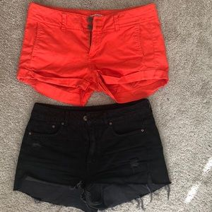 Express and H&M shorts. Bundle 2 for $ 12